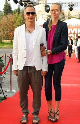 Степан Михалков с супругой