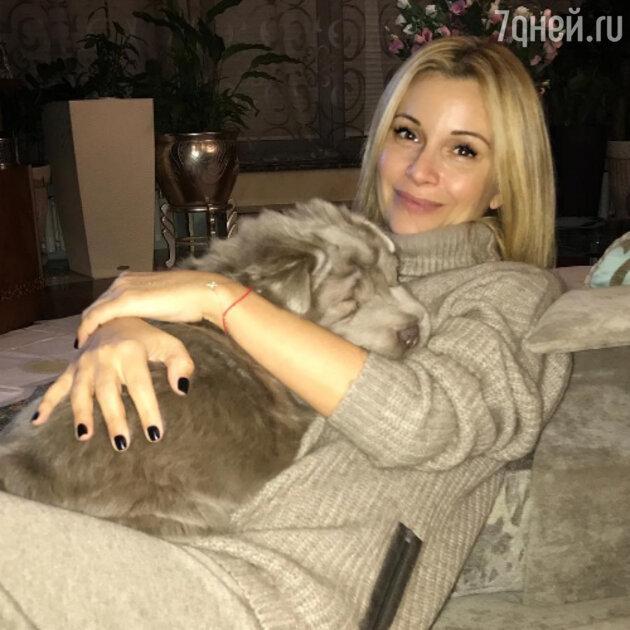 Ольга Орлова и пёс Бруно