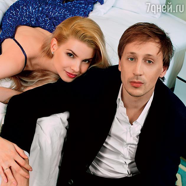 Павел Дмитриченко с женой Яной