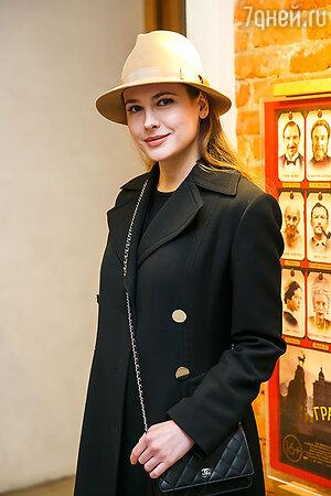Анна Горшкова на премьере фильма «Отель «Гранд Будапешт»