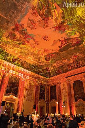Во дворце Лихтенштейн