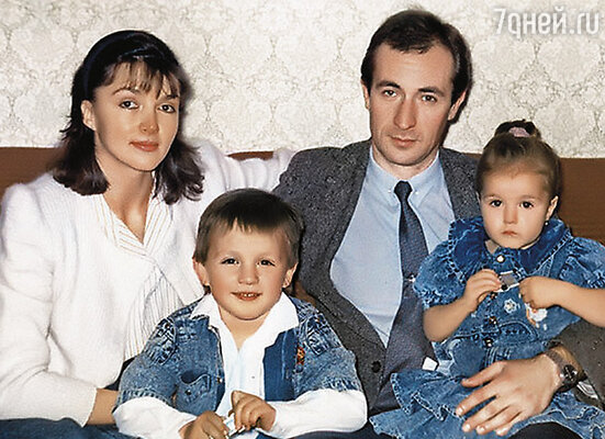 Мы с Алиной и родители — Михаил Генрихович и Татьяна Анатольевна