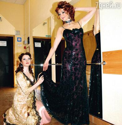 Ольга Кабо иЕкатерина Вуличенко сыграли мать и дочь