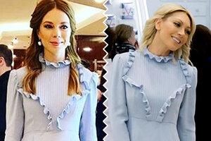 Битва нарядов: Наталья Подольская и Аврора в Enteley