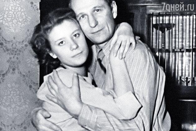 Елена Образцова с отцом