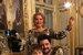 Анна Нетербко с сыном Тьяго и мужем Юсифом Эйвазовым