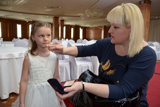 Маргарита Суханкина с дочкой Лерой