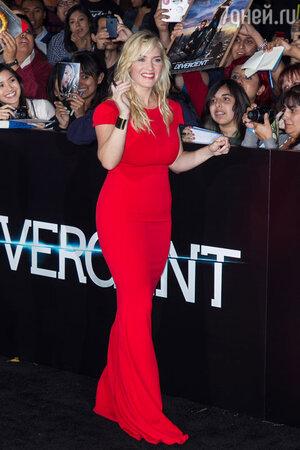 Кейт Уинслет на премьере  боевика «Дивергент» в Лос-Анджелесе