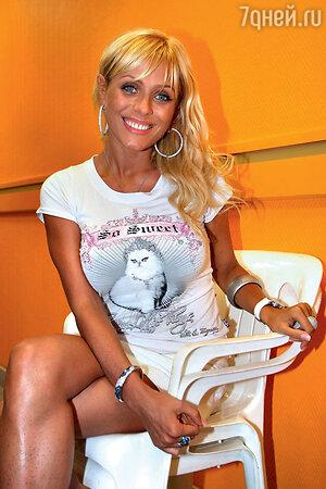 Юлия Началова. Фотосессия. 2008 год