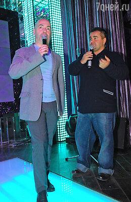 Михаил Грушевский и Сергей Рост