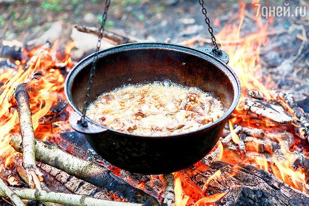 Приготовление блюд на открытом огне