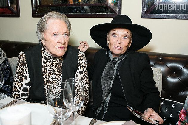 Римма Маркова и Светлана Светличная на юбилее благотворительного фонда «Артист»