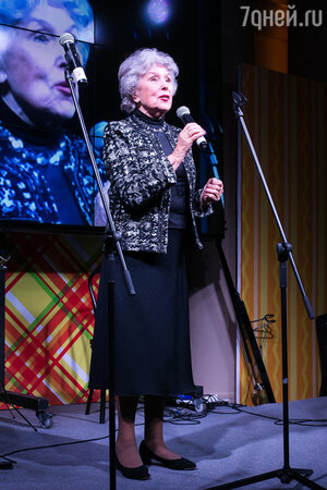 Выступление Веры Васильевой на юбилее благотворительного фонда «Артист»