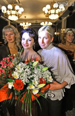 Наталья Толстая и Татьяна Пушкина