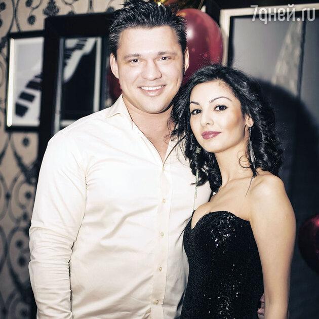 Алексей Кабанов с женой Розалией
