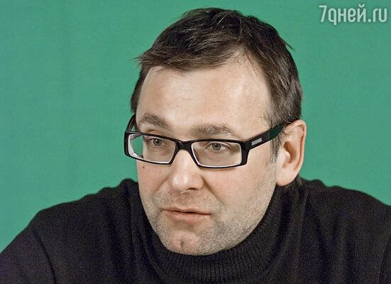 Телеведущий Вадим Тихомиров
