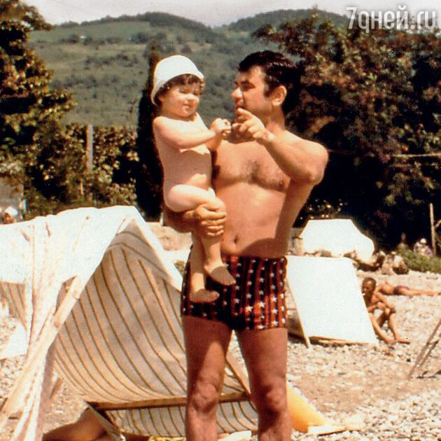 Анна Плетнева с отцом