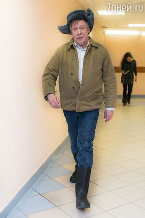 Михаил Ефремов на вручении премии «Своя колея»