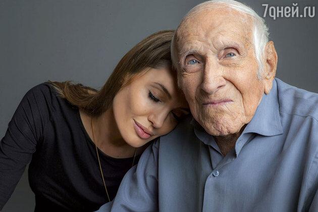Анджелина Джоли с летчиком Луи Замперини