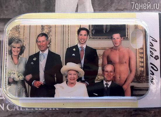 Чехлы на iPhone с королевской семьей и обнаженным Гарри разлетелись как горячие пирожки