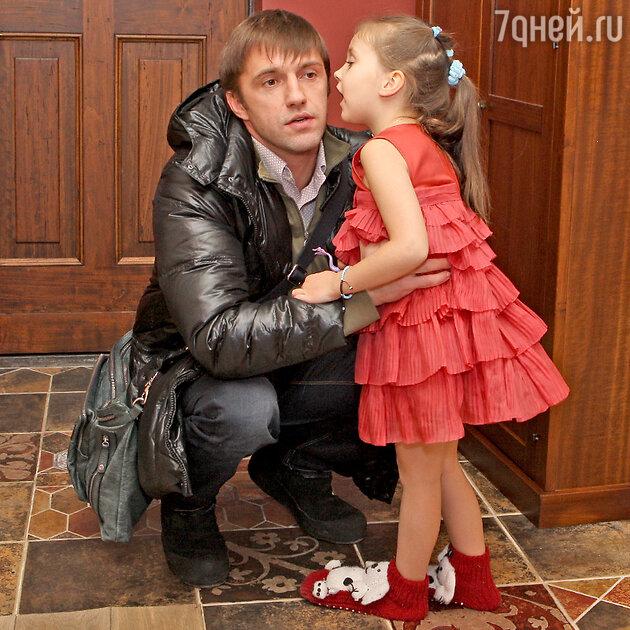 Владимир Вдовиченков с дочерью Вероникой