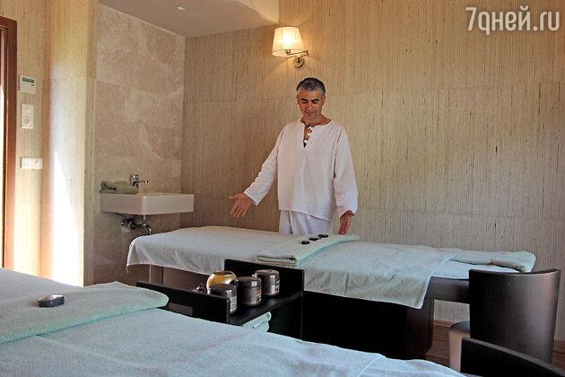 Расслабиться поможет специальный массаж в SPA