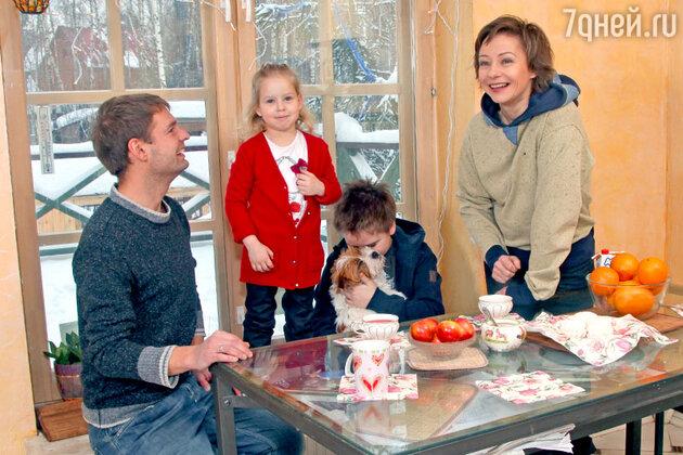 Евгения Добровольская — мать четверых детей