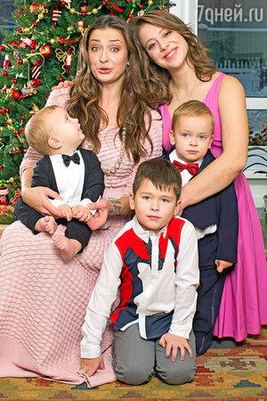 Мария Ситтель — мать четверых детей