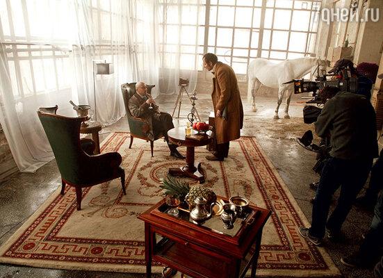 Большинство эпизодов снимали в знаменитом питерском особняке купцов Брусницыных