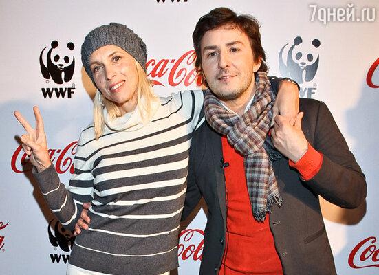 Алена Свиридова и Владимир Широков