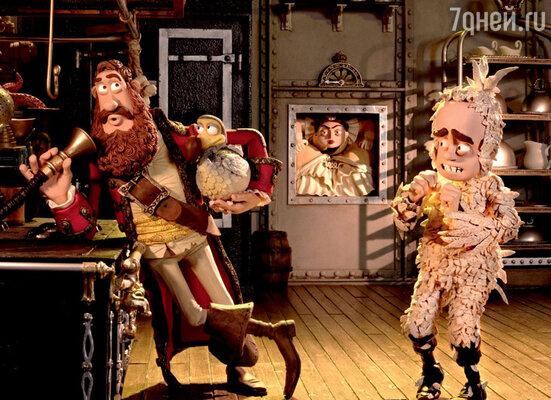 Кадр из фильма «Пираты: Банда неудачников»