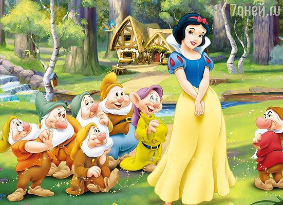 Премьера мультфильма «Белоснежка и семь гномов» состоялась в 1937 году