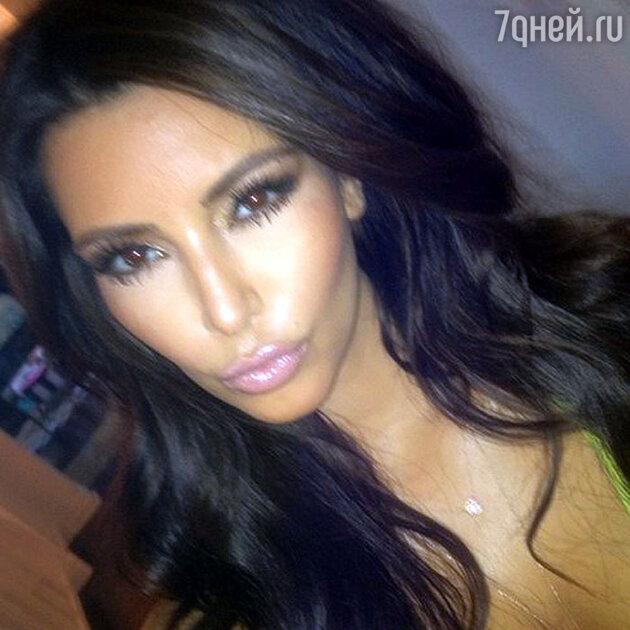 Ким Кардашьян является одной из самых востребованных американских знаменитостей в популярной сети микроблогов «Твиттер»