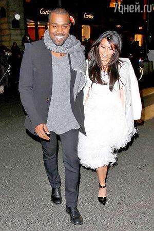 Уже в начале 2012 года  Ким Кардашьян официально объявила о своих отношениях с рэпером Канье Уэстом