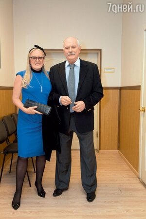 Никита Михалков с женой Татьяной на вручении премии «Золотой орел»
