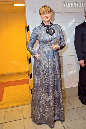 Анна Михалкова на вручении премии «Золотой орел»