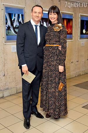 Анатолий Белый с женой Инессой на вручении премии «Золотой орел»