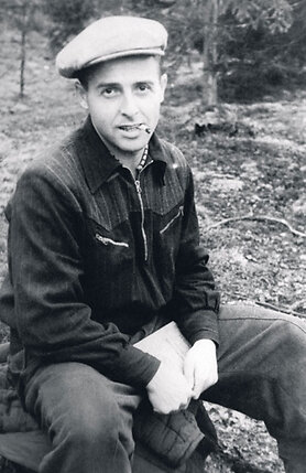 «Кто-то написал донос — и Мишу посадили за антисоветскую пропаганду. Шесть лет он провел в лагере подСоликамском». 1948 г.