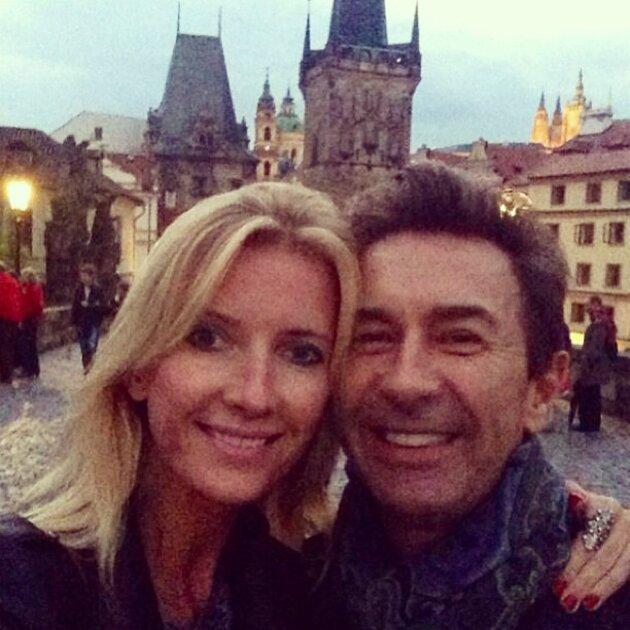 Валерий Сюткин с женой Виолой