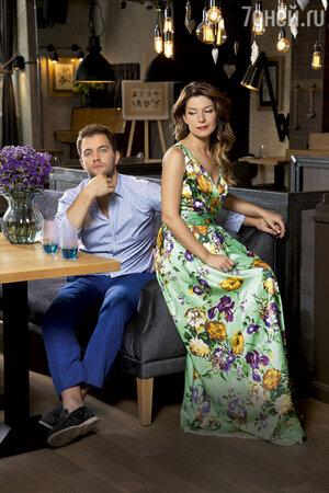 Екатерина Волкова с мужем Андреем Карповым