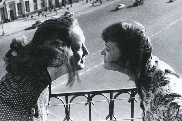 Наталья Валандина и Людмила Гурченко