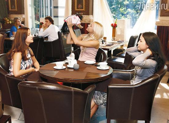 Ольга Орлова, Наталья Рудова и Асель Сагатова играют гламурных подружек