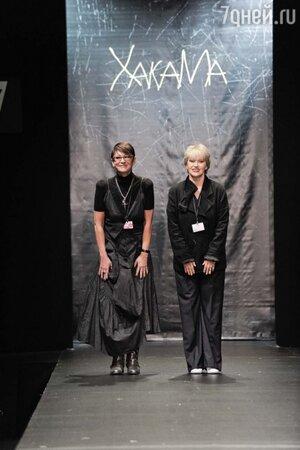 Ирина Хакамада и Елена Макашова продемонстрировали творения нового бренда «ХакаМа»