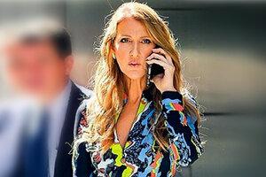 Образ дня: Селин Дион в Versace
