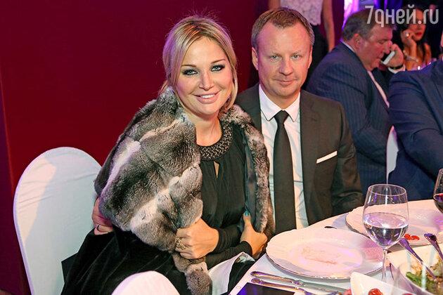 Мария Максакова с мужем Денисом Вороненков