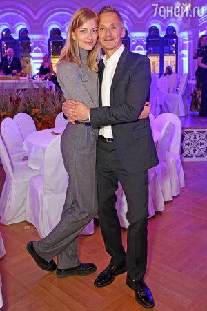 Степан Михалков с женой Елизаветой