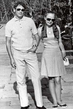 Наталия Белохвостикова с мужем Владимиром Наумовым