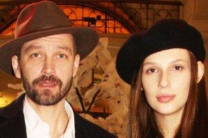 Жена Владимира Кристовского через неделю после родов вышла в свет