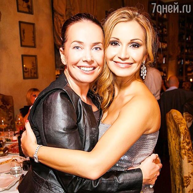 Жанна Фриске и Ольга Орлова