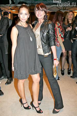Жанна Фриске с сестрой Натальей Фриске